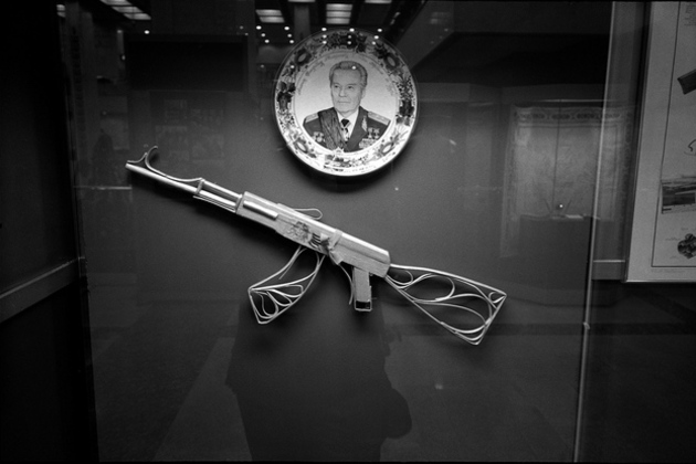 Mikhail Kalashnikov felt