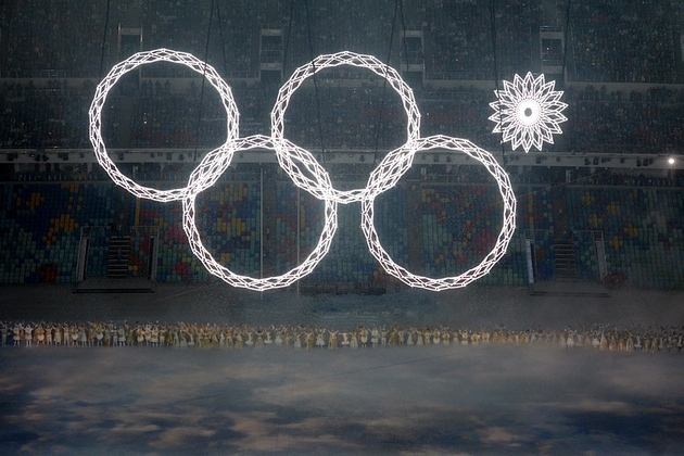Olympic rings fail