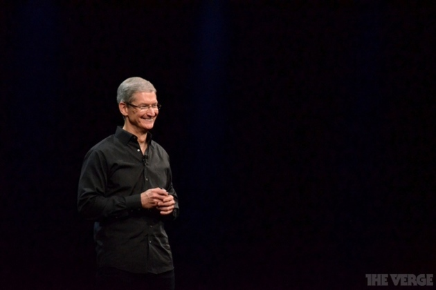 Tim Cook says Google wasn't