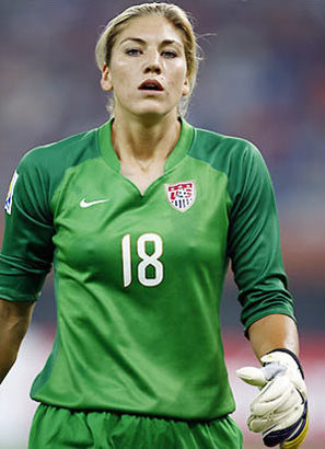hope solo pictures. hair house hope solo tattoo.