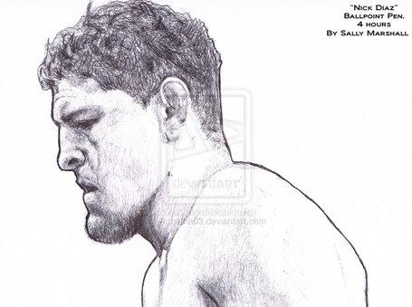Nick_diaz_portrait_by_aghatha03-d4qpyvh_medium