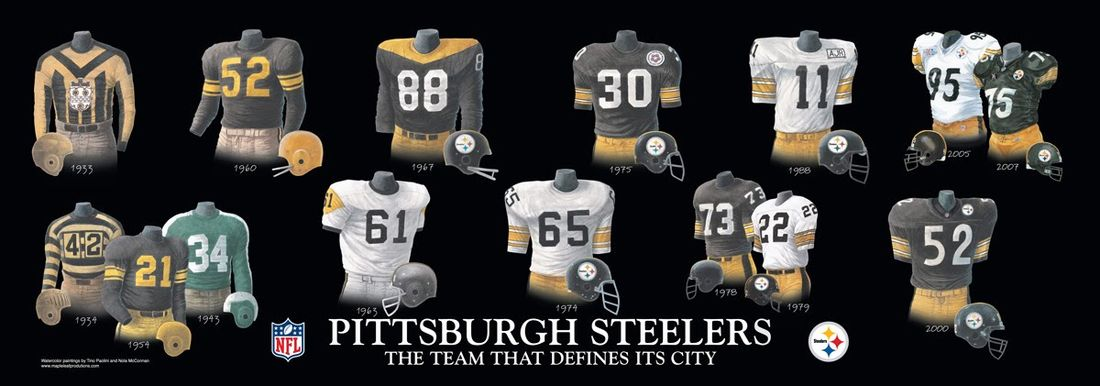 ... Jerseys for 80th Anniversary Season - Behind the Steel Curtain