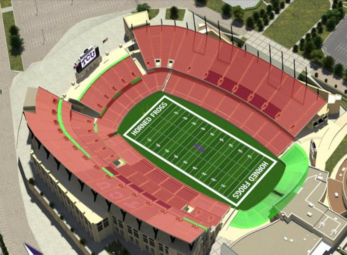 new tcu stadium seating chart: Breaking news tcu sells out amon g carter reserved seating for