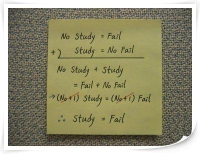 studyfail