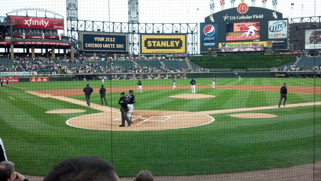 My View From The Scout Seats South Side Sox - Cellular field seating