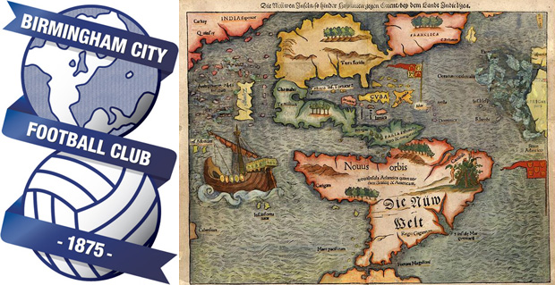 birmingham crest globe europe america