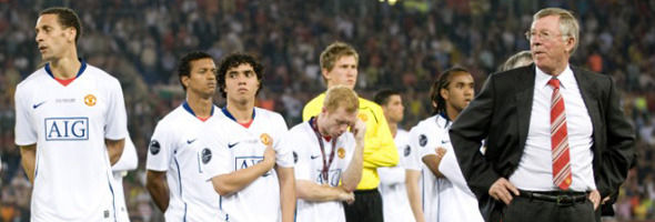 manchester united lose cl final barca