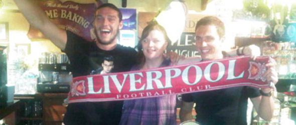 andy carroll stewart downing scarff