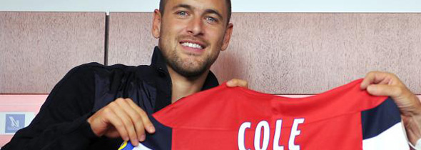 joe cole lille signing loan
