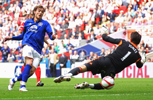 jelavic goal liverpool everton