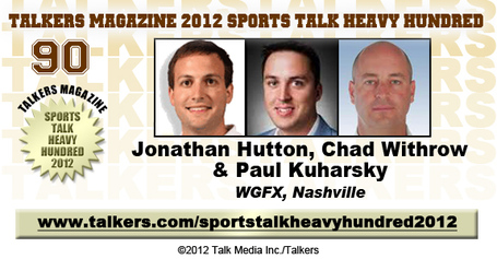 104.5 Midday 180 Jonathan Hutton, Chad Withthrow, Paul Kuharsky