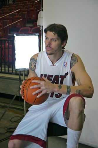 Mike Miller Miami Heat Media Day