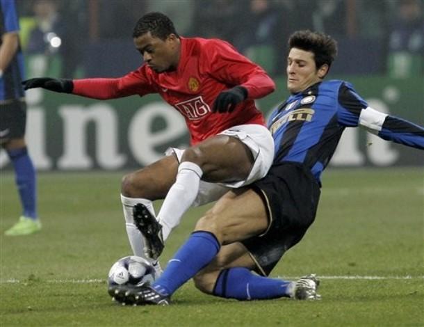 Zanetti  shuts down Evra