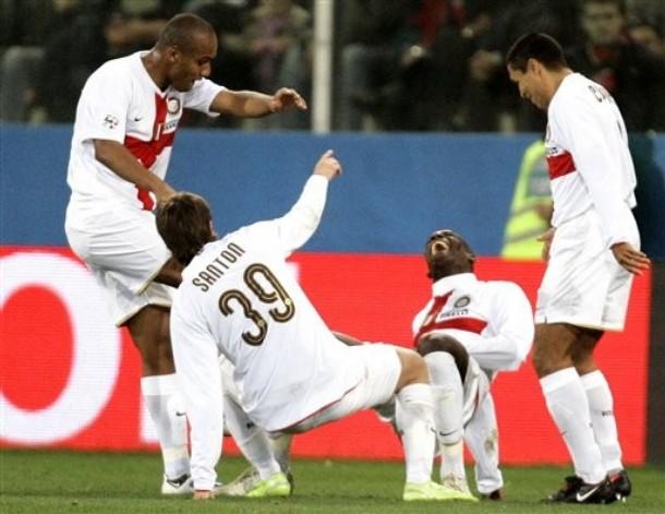 Balotelli\'s horrific goal celebration