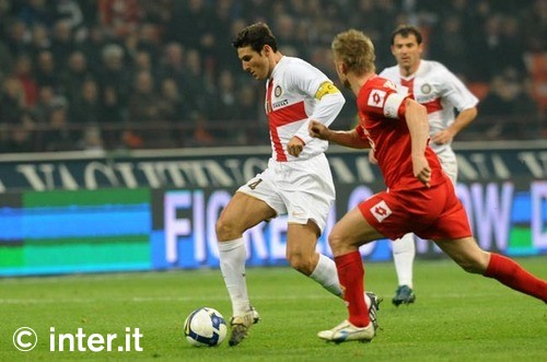 Javier Zanetti, still dreamy