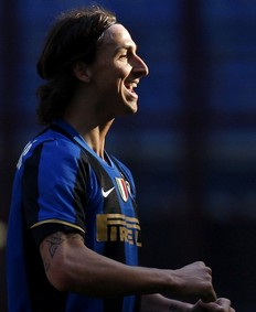 Ibra, happy with Inter
