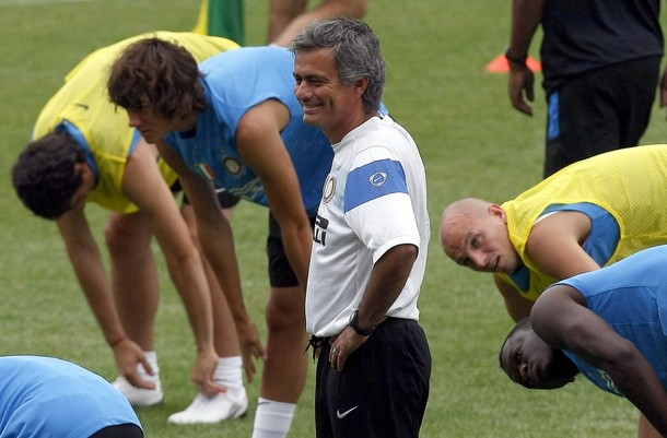 Mou looks more confident than he sounds