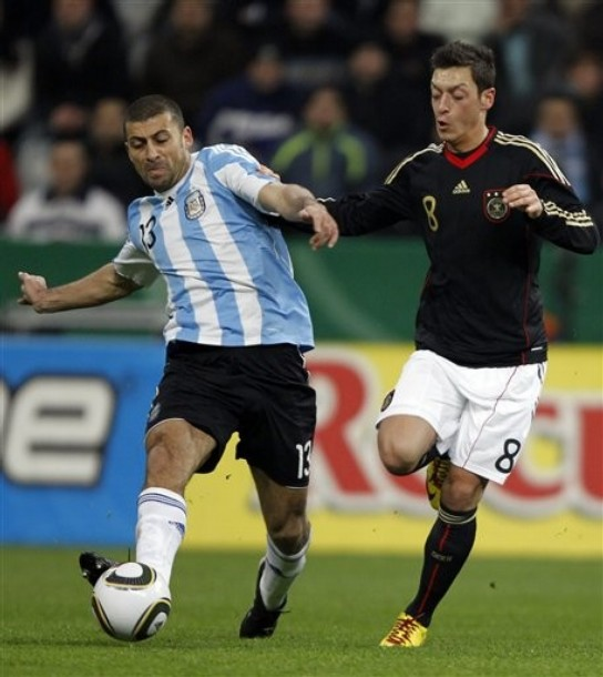 Samuel for Argentina against Germany