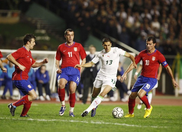 Stankovic for Serbia against Algiers