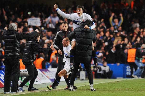 Zanetti and Toldo Celebrate