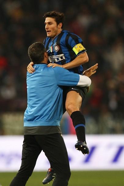 Zanetti and Toldo, together again
