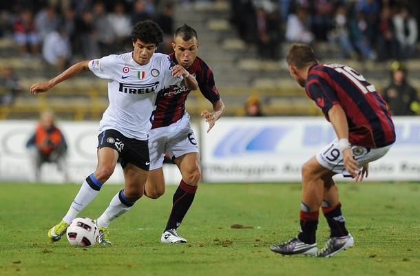 Coutinho against Bologna
