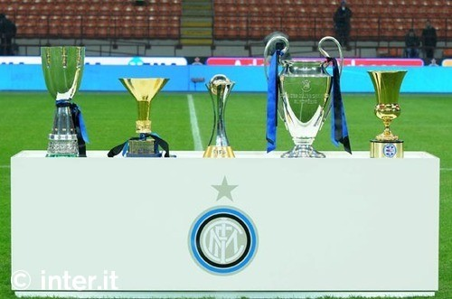 Trophies - all five of them