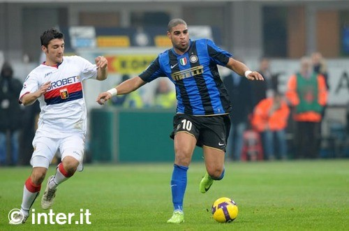 Adriano in the Coppa