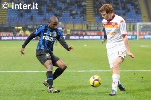 Etoo against Roma