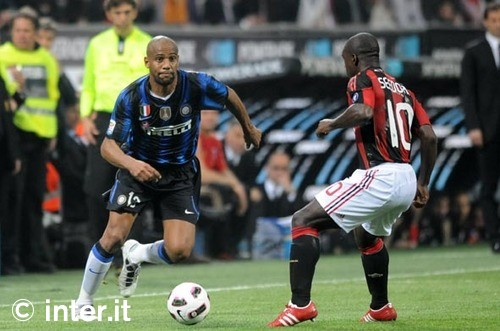 maic and seedorf derby