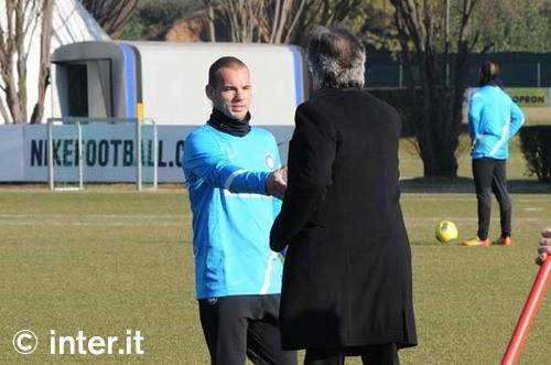 Sneijder pre derby