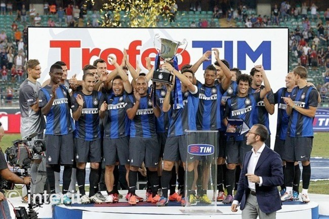 Inter win Trofeo Tim 2012