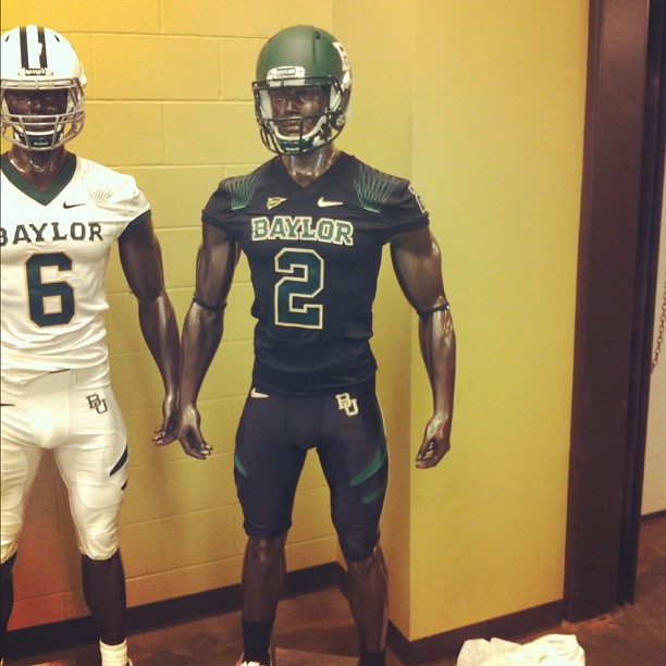 Baylor alternate uniforms 2012-2013 season