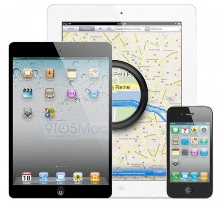 Apple's iPhone 5, iPad Mini By Apple