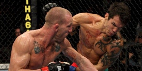 Gray-maynard-punches-roger-huerta-at-ufc-fight-night-19