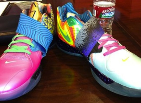 First look at Kevin Durant s new What the KD IV shoes