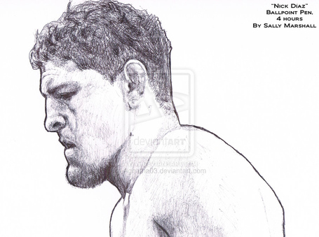 Nick_diaz_portrait_by_aghatha03-d4qpyvh_medium