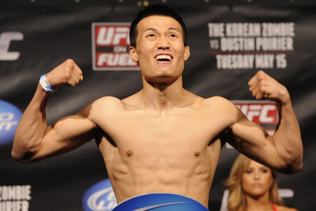 Asian mma fighters