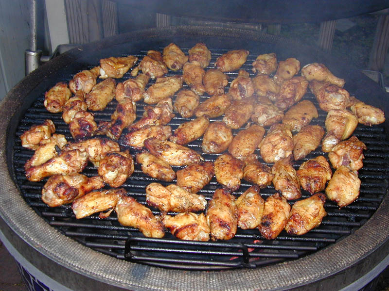 wing turning easy grilled buffalo wings grilled honey chipotle chicken ...