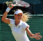 Maria Kirilenko of Russia is ranked 59th but got a Centre Court match.