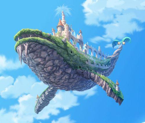 whale castle