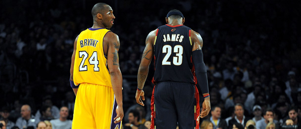 Network in a round table discussion of Kobe Bryant and LeBron James.