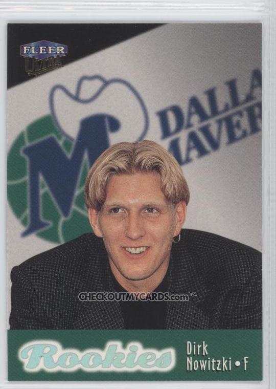 dirk nowitzki rookie year. Dirk Nowitzki (#9).