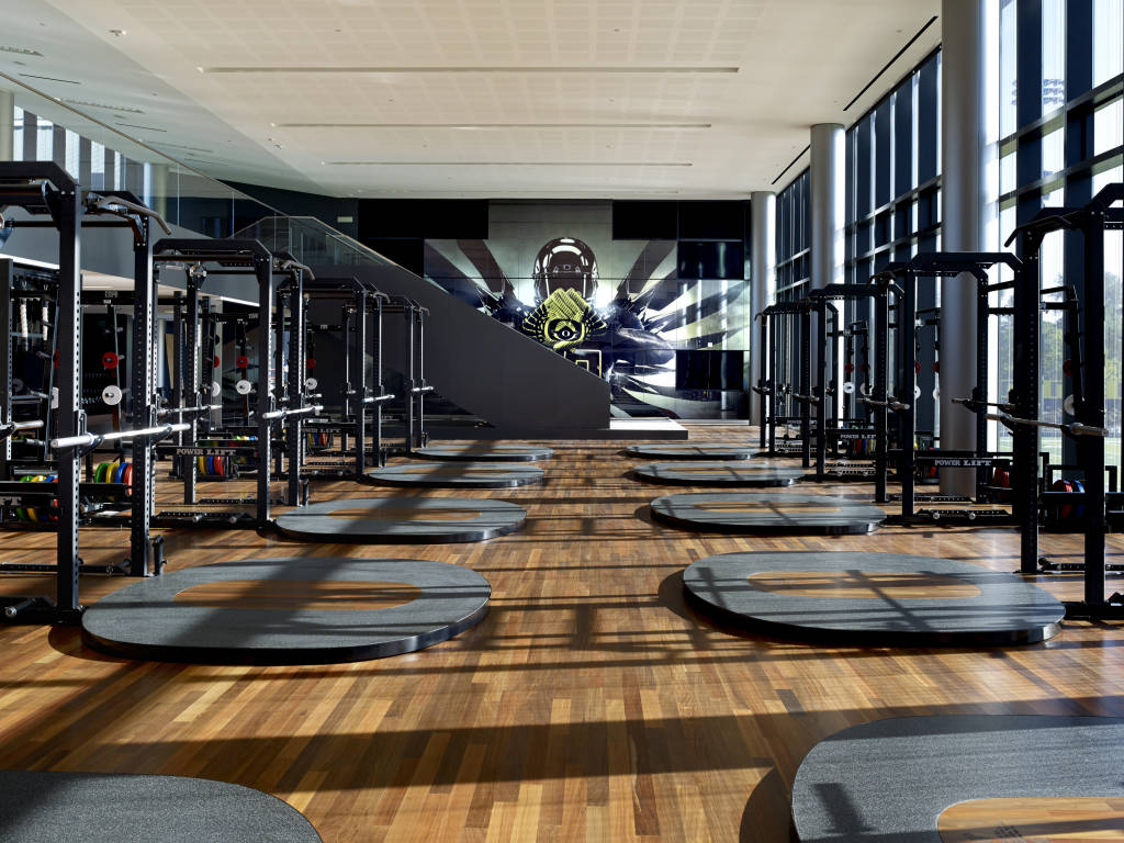 Incredible photos and video of oregon 39 s new football for Athletic training facility design