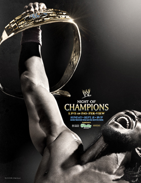 WWE Night of Champions 2013 poster features Kofi Kingston - Cageside