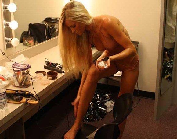 Gwen in bondage