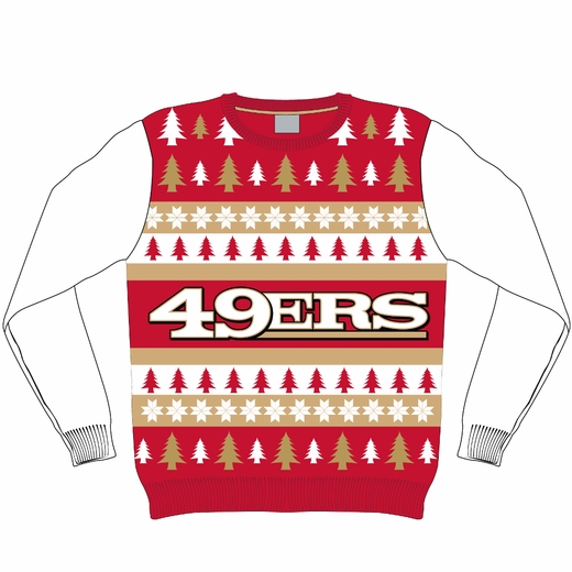 Get your San Francisco 49ers ugly Christmas sweater! - Niners Nation