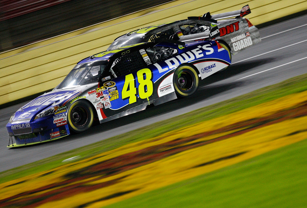 jimmie johnson 48 car. Jimmie Johnson held off Jeff