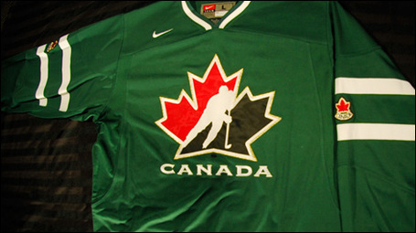 Huh? Canada Juniors To Sport Green Jerseys