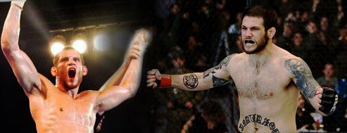 Jon Fitch and Luigi Fioravanti at UFC 68